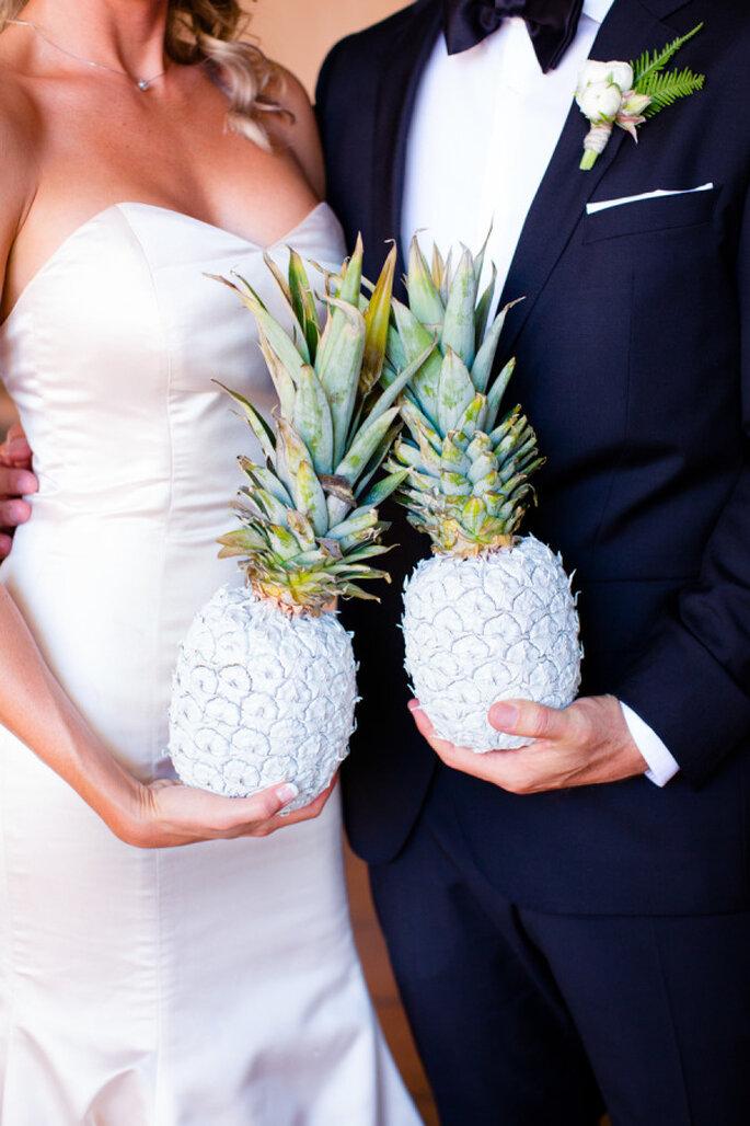 Piñas en la decoración de tu boda- Acqua Photo