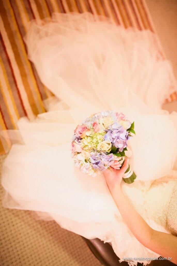 Ramo de novia para boda 2012. Fotografía Renato dPaula