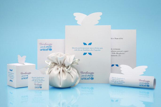 Con le bomboniere UNICEF i ricordi più belli non saranno soltanto i tuoi!