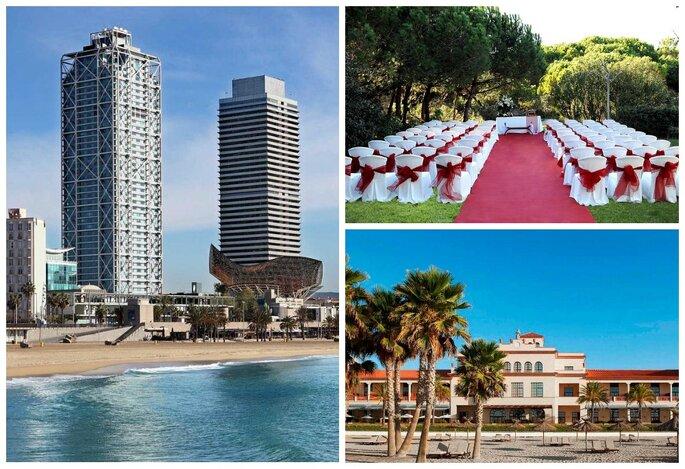 Hotel Arts Barcelona, Restaurant Les Marines, Le Méridien Ra Hotel & Spa