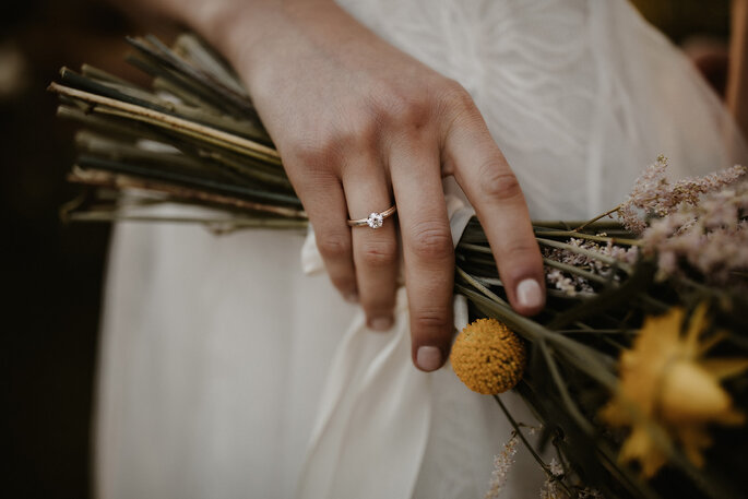 Brautstrauß Gartenhochzeit