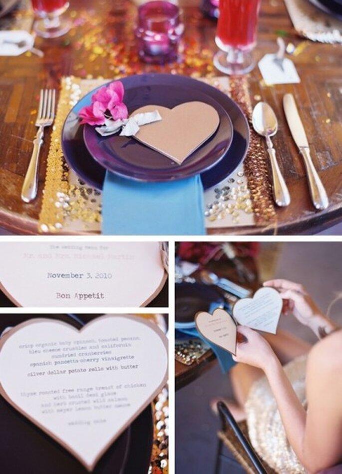Papier ist ein beliebtes Material bei Green Wedding-Hochzeiten – Foto: organiser un mariage
