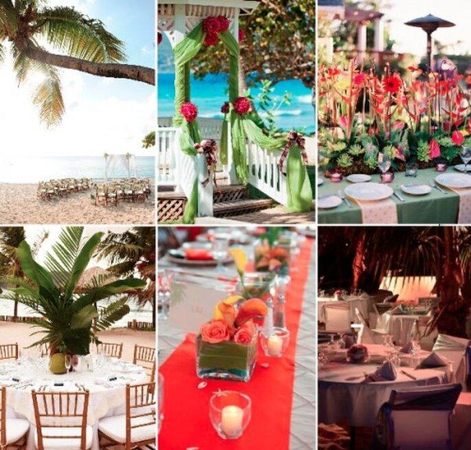 Mariage aux Antilles - Crédit Photos : Aaron Rebarchek, Long Bay, Wedding Chicks, Martha Stewart Weddings, Destination Wedding Mag, My Evasion