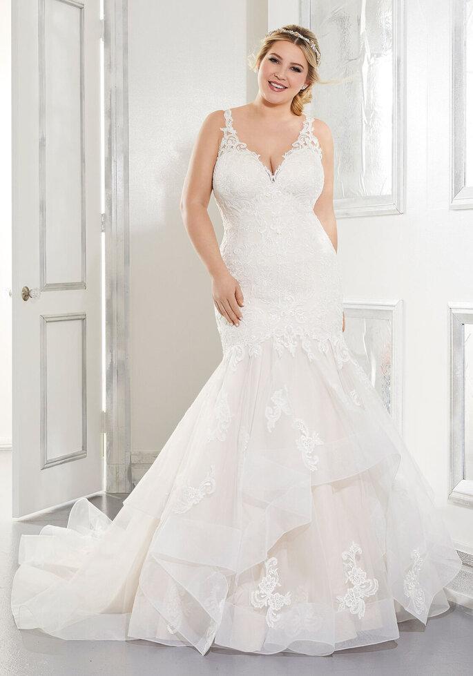 Robe de mariée sirène grande taille