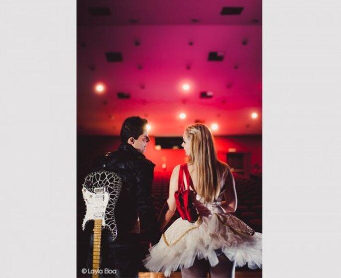 Sesión preboda inspirada en el ballet. Fotografía Layla Eloa