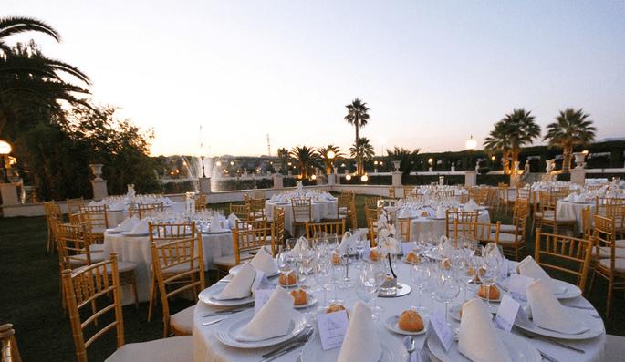 Las 7 mejores fincas para bodas de granada for Jardines caballo blanco