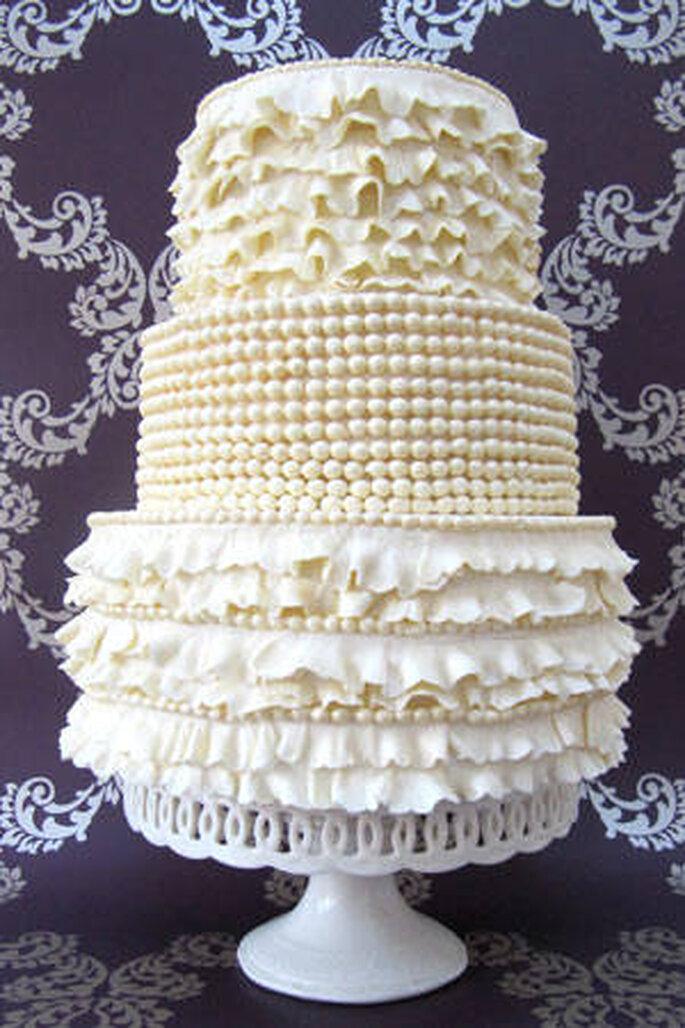 Foto via  Rosalinda Miller Cakes