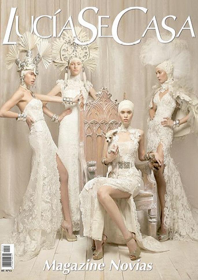 LucíaSeCasa es una revista de novias para las parejas que están organizando su boda. Foto: LucíaSeCasa