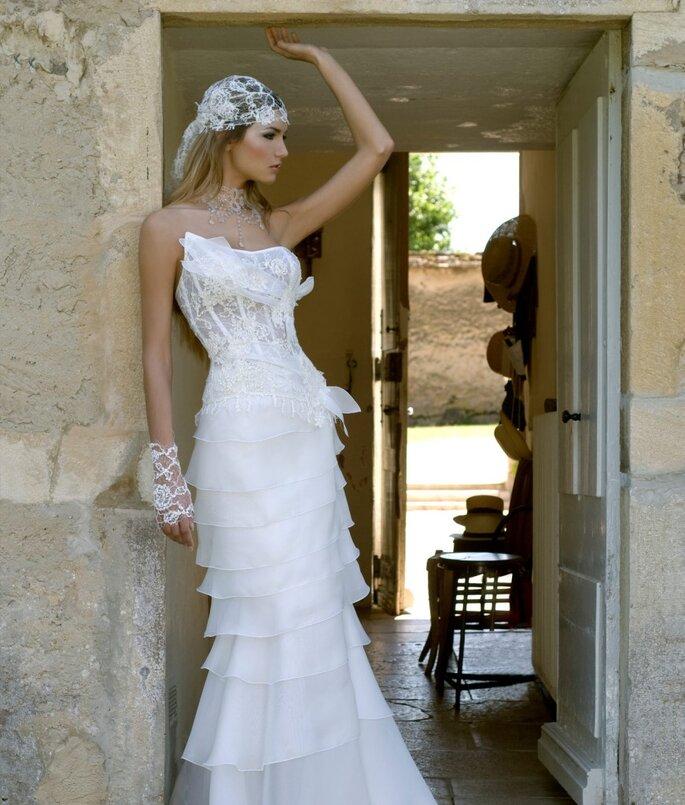 Robe de mariée Rosi Strella - Pétale de rose