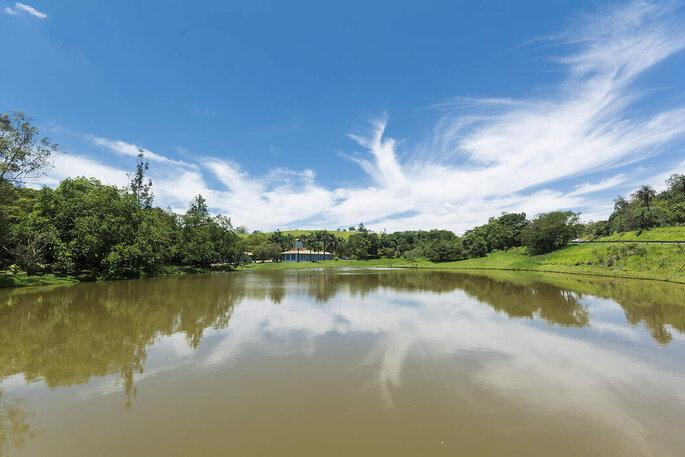 Fazenda Juca Mulato. Foto do lago