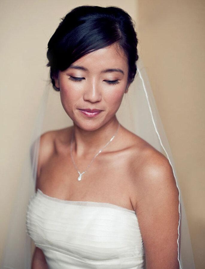 A beleza da maquiagem asiática. Foto: Alexandra Roberts