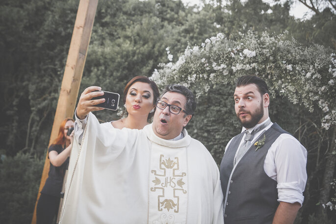 Selfie celebrante
