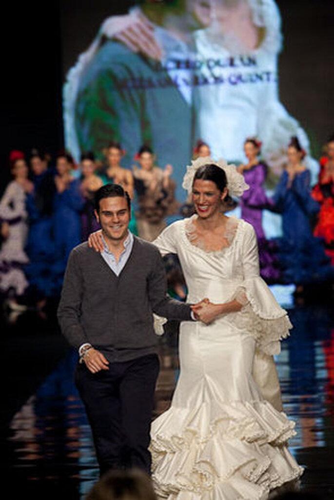Une robe signée Luchi Cabrera présentée au SIMOF 2009