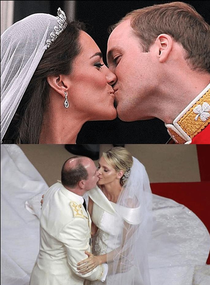Kate e Charlene spose reali! Foto: nozzefurbe