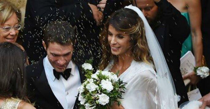 Matrimonio di Elisabetta Canalis e Brian Perri - Foto via Facebook Vanity Fair Italia