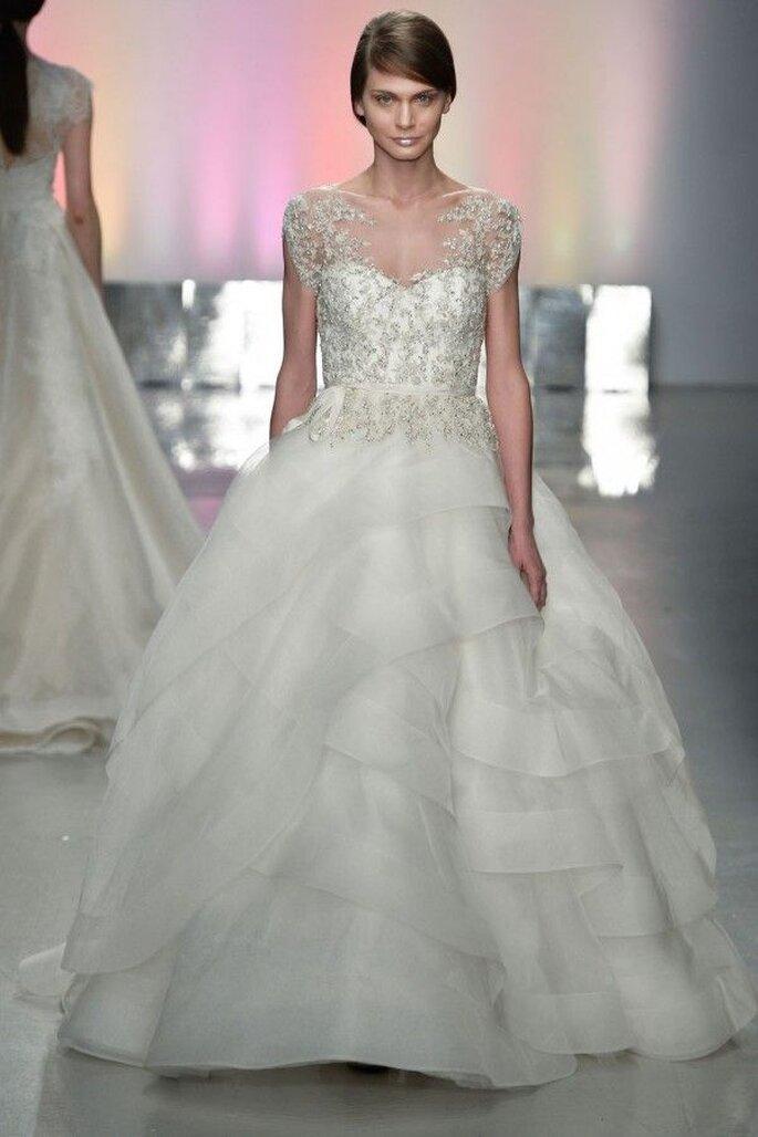les grandes tendances robes de mari e 2015 bridal week