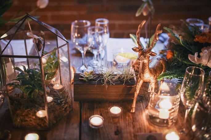 Una boda inspirada en las estrellas y la ciencia - Max & Friends