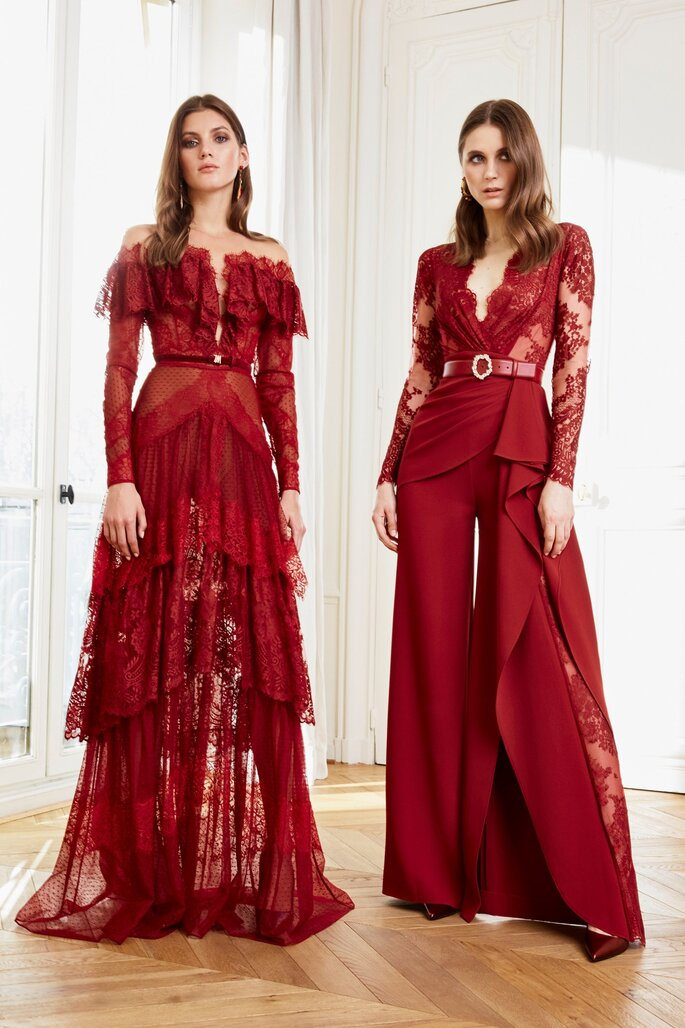 Vestidos rojos de fiesta