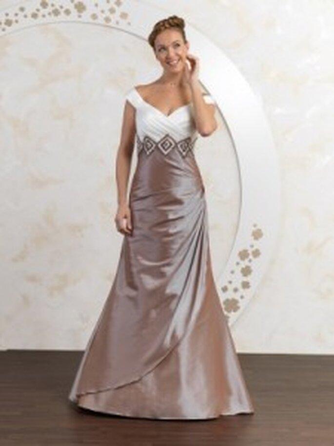 Farbiges Brautkleid von Kleemeier