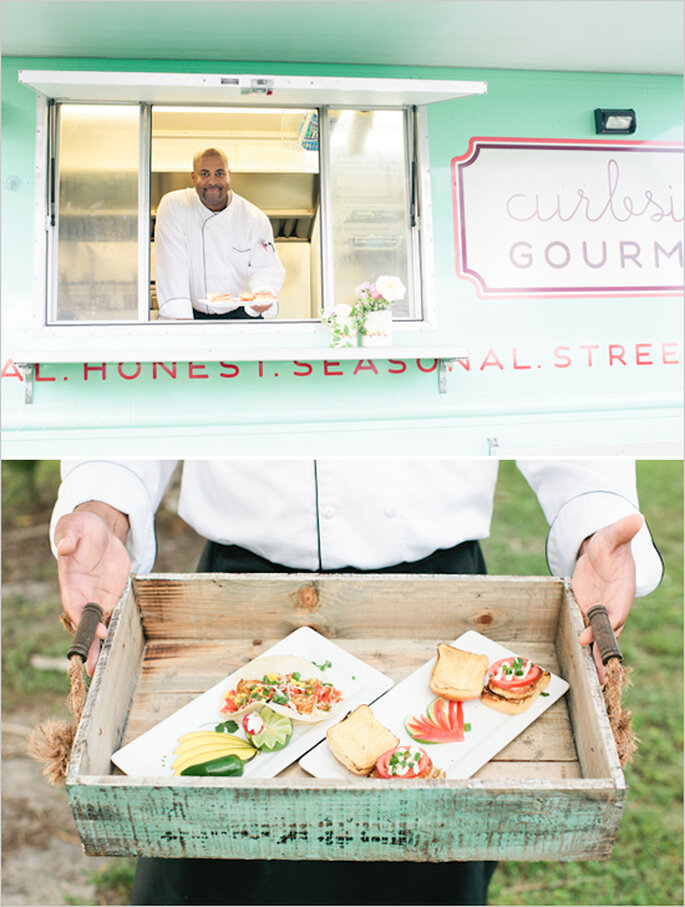 Food trucks para tu banquete de boda - Foto Chelsea Boatwright