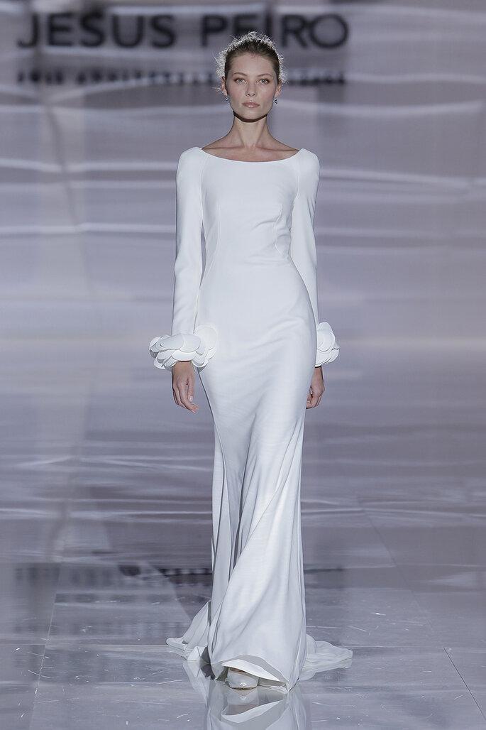 Vestidos de novia cuello barco