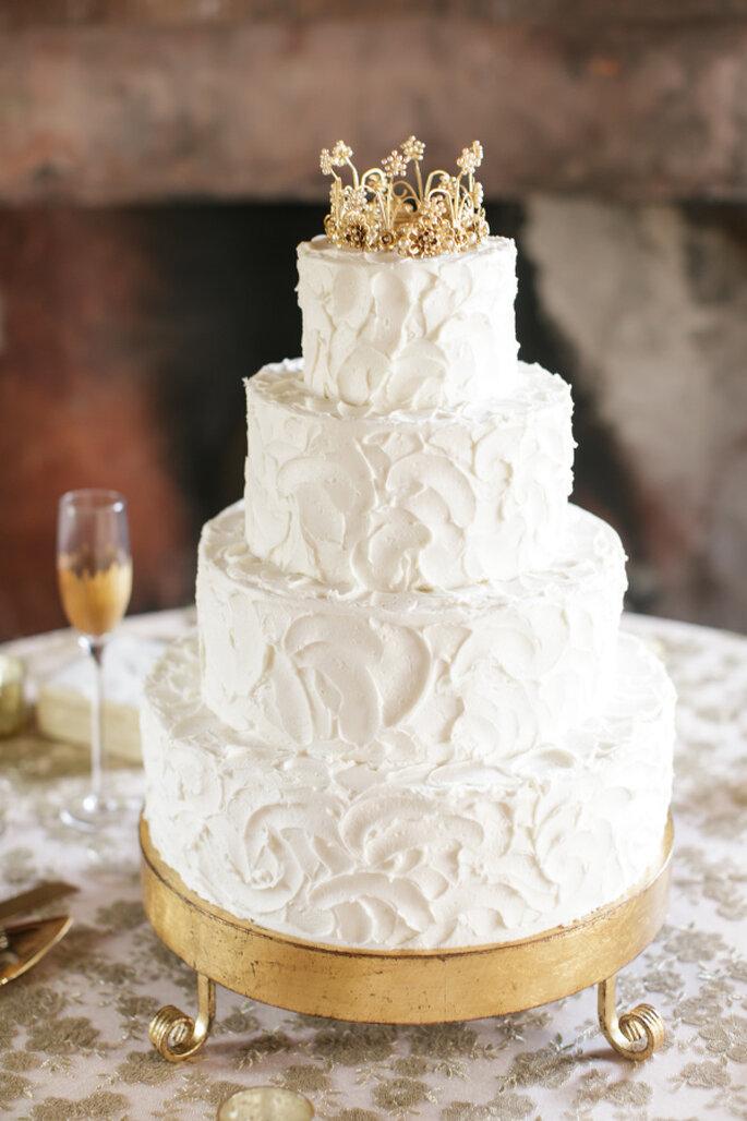 pastel con flores - Greer Gattuso