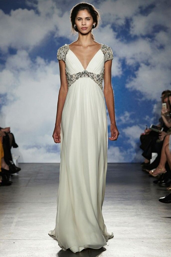 Vestidos de novia con inspiraciones greco romanas - Foto Jenny Packham