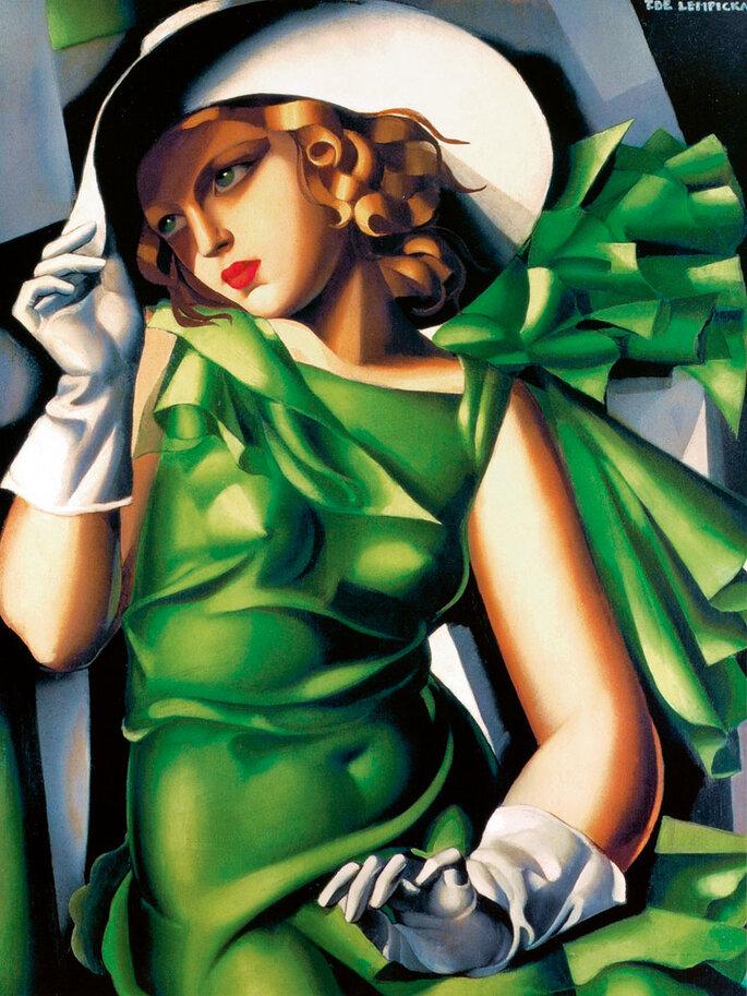 Tamara de Lempicka Donna con guanti