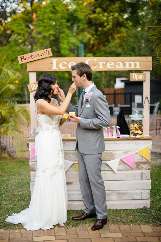 15 ideas súper ingeniosas para una boda al aire libre - Andrea Sproxton Photography