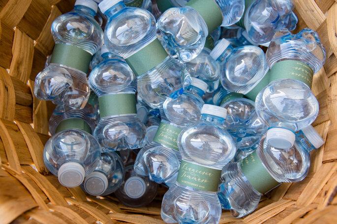 Dettagli speciali per personalizzare le bottiglie