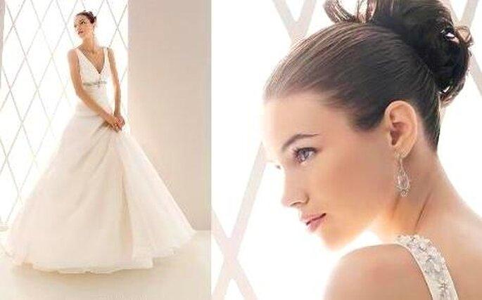 Tendências Vestidos de Noiva - Corte princesa