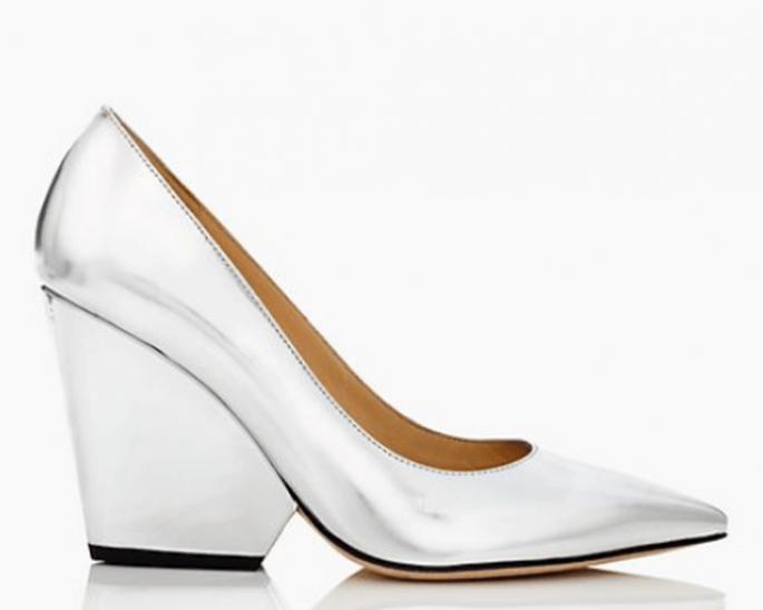 Zapatos de novia 2014 con tacones gruesos como tendencia - Foto Kate Spade