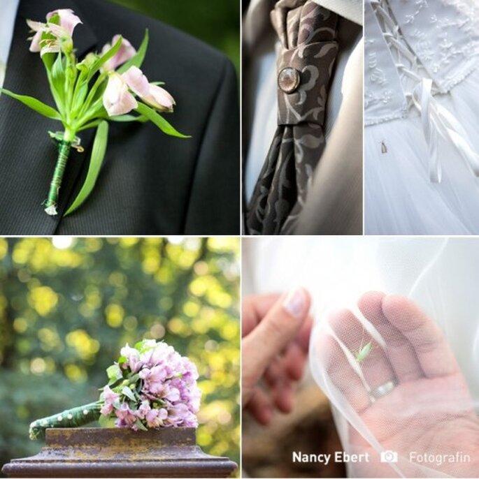 Detail-Aufnahmen dürfen niemals fehlen – Foto: Boutinere Nancy Herbert