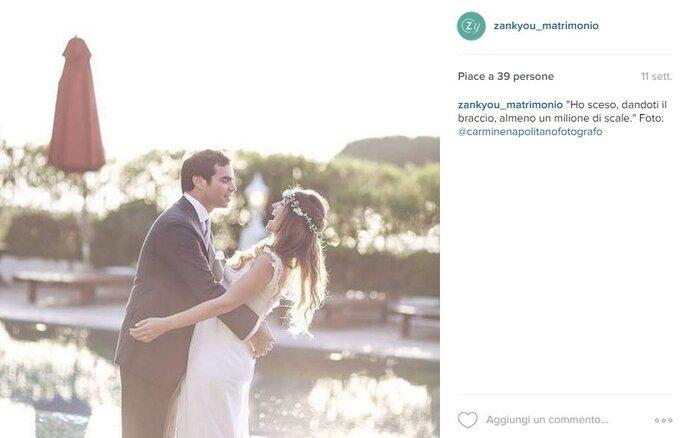 Foto via Instagram.com/zankyou_matrimonio