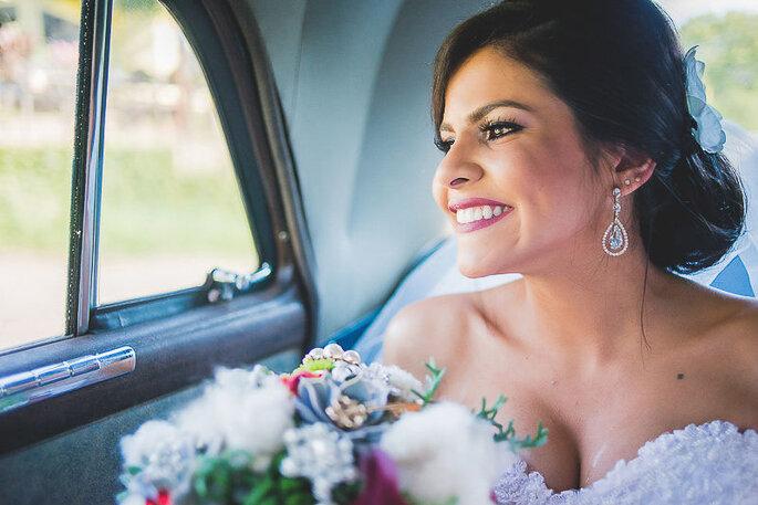 Trouvaille. Foto da noiva