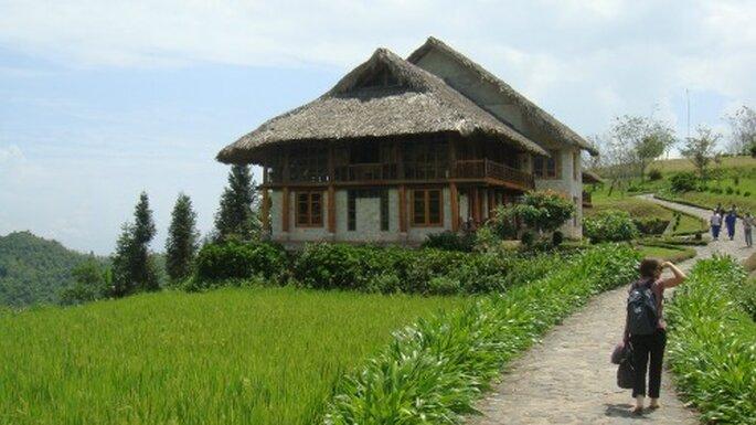Nature, écologie et aventure au programme pour un voyage de noces inoubliable. Ecolodge au Vietnam - David McKelvey - Flickr - licence Creative Commons