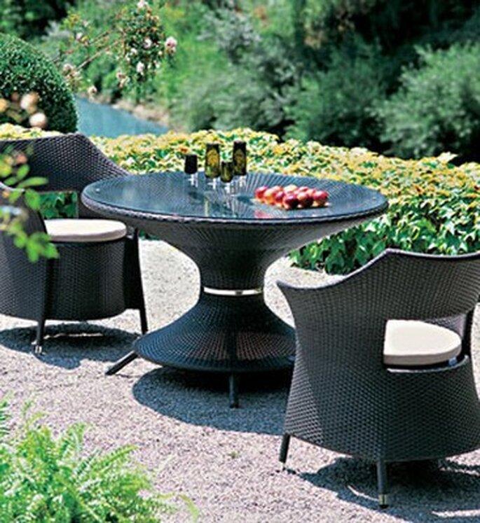 Mobili da giardino per la vostra cerimonia all'aperto