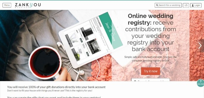Cash Wedding Registry   Get the money in your bank account resize