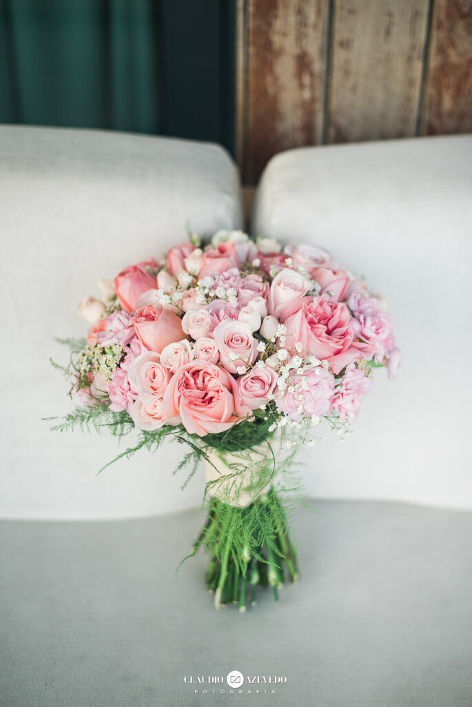 Buquê: Florista Meri Barboza - Foto: Claudio Azevedo Fotografia