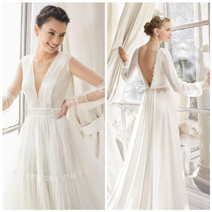 Superbe galon ancien vintage blanc satiné  large robe mariée au métre A2