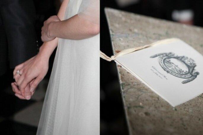 Quoi de plus émouvant qu'une cérémonie laïque personnalisée ? Crédit photos: Carnets de Mariage - Mariage Carnets de Mariage