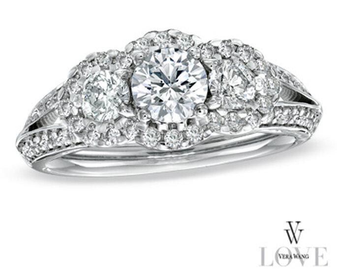 Elegantes anillos de compromiso dise ados por vera wang - Anillos de compromiso sencillos ...