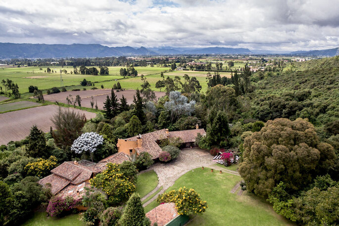Casa de Campo Potrerito Hacienda para bodas Bogotá