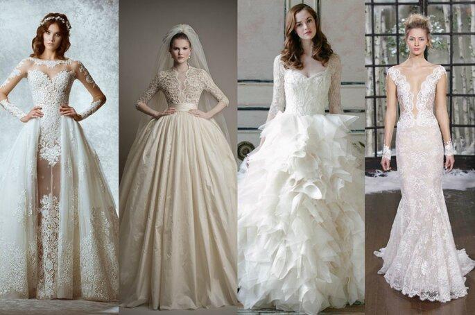 Foto: Vestidos de noiva trés chic
