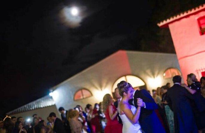 Los novios durante el baile- Foto: Víctor Lax