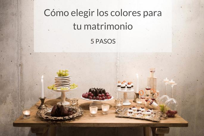 Cómo elegir los colores para tu matrimonio. ¡La combinación perfecta ...