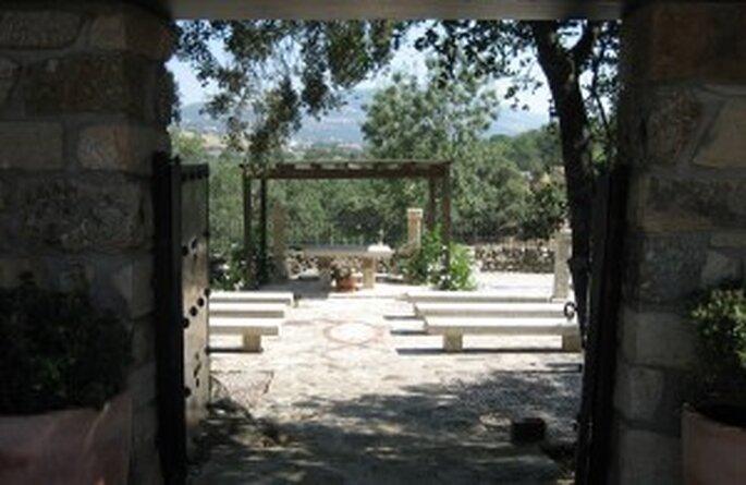 Altar en plena naturaleza