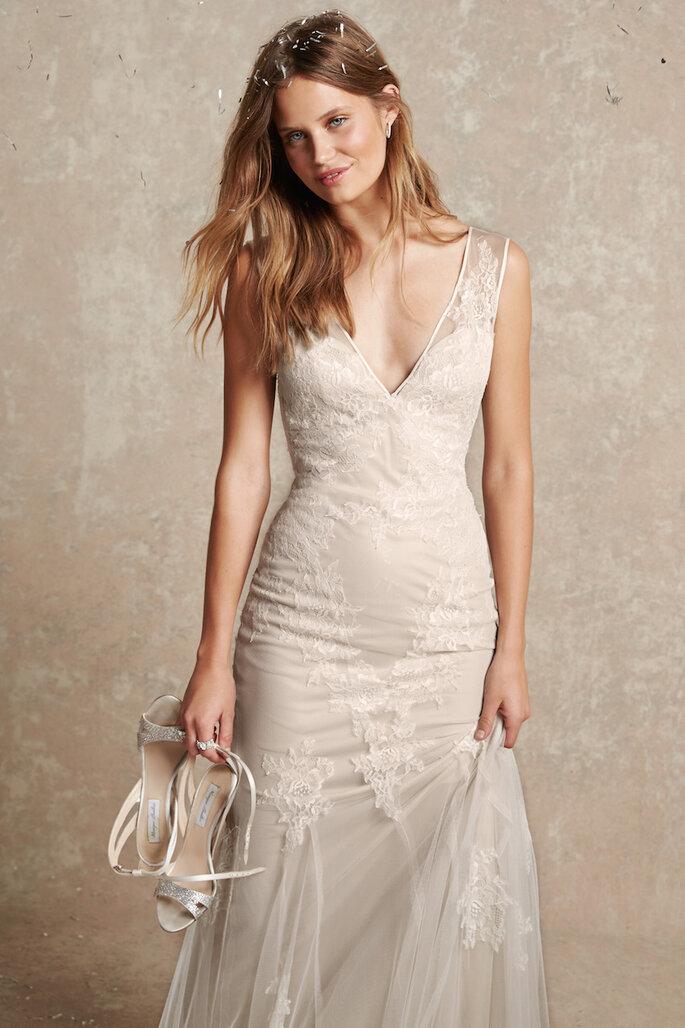 El vestido de novia perfecto para las más chaparritas - Monique Lhuillier Bliss