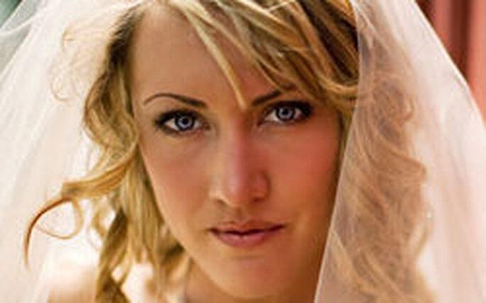 Pettinature da sposa per capelli ondulati