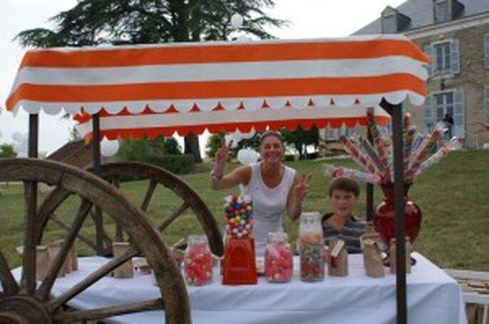 Tendencias bodas 2011: Buffet de dulces